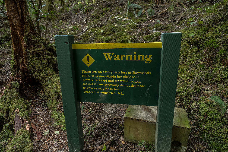 harwoods hole neuseeland